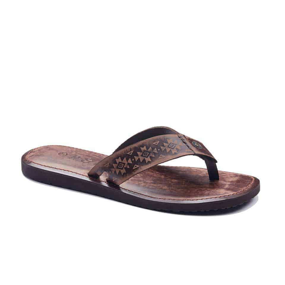 handmade leather mens sandals flip flops 1952 1 - Summer Sandals For Men