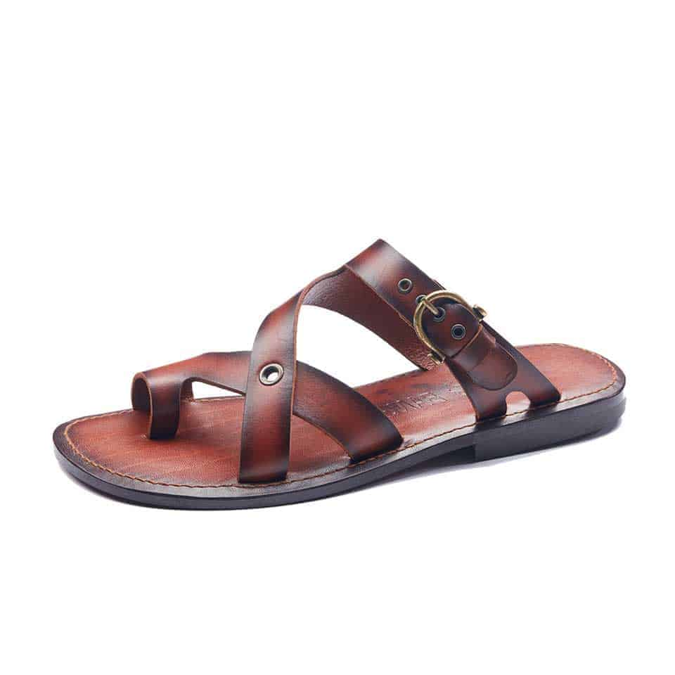 mens leather sandals 1953 2 - Mens Sandals