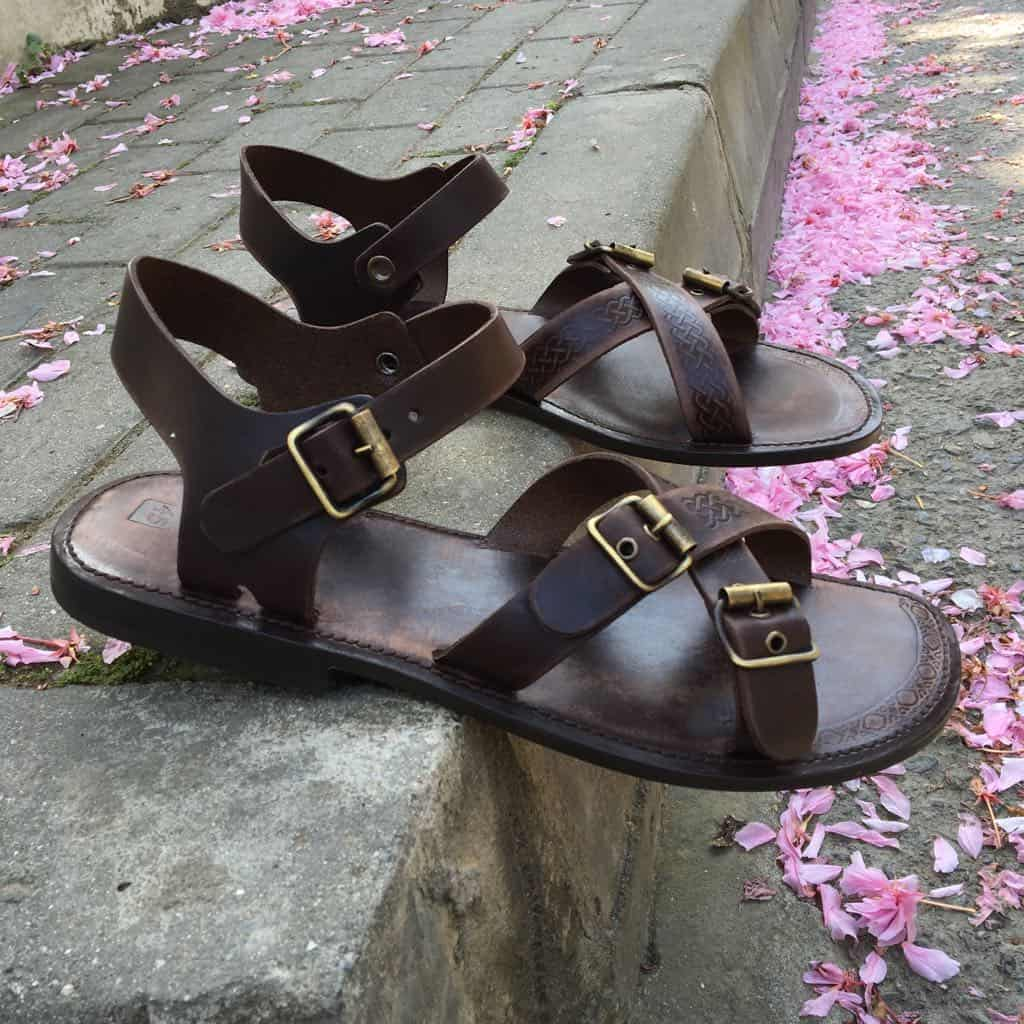 handmade leather sandals - Leather Sandals