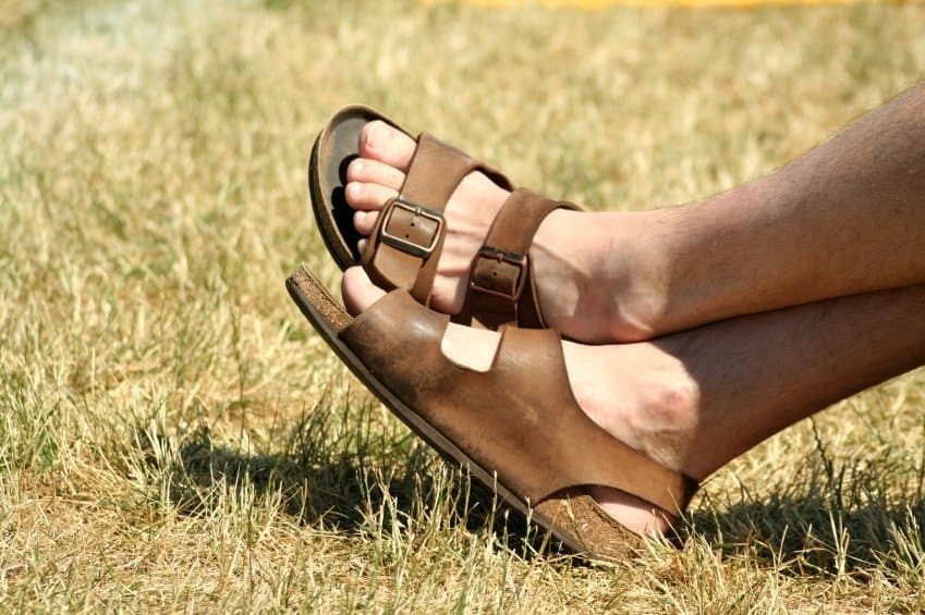 leather flip flops - Foot Care At Home