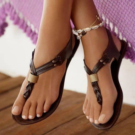 leather sandals 2 - Stylish Women's Sandals