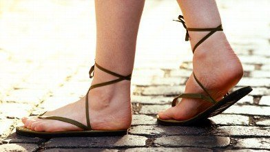 leather sandals - Foot Care At Home