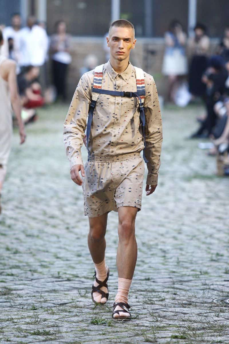 Mens Style Wearing Sandals with shorts - Sandals For Men