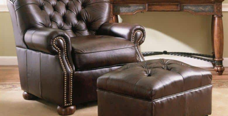 leather chair - Handmade Leather Goods