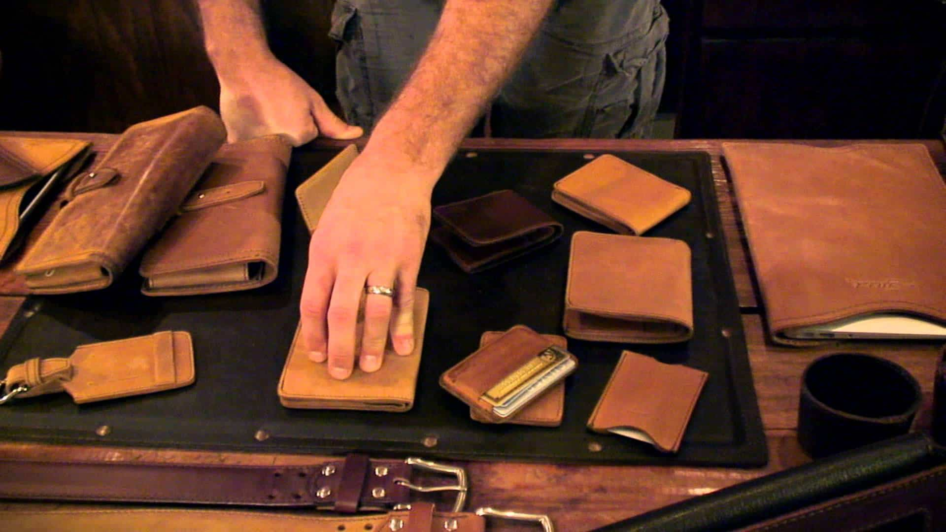 leather crafting - Handmade Leather Goods